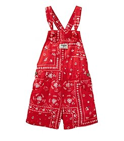 OshKosh B'Gosh® Girls' 2T-4T Bandana Printed Shortalls