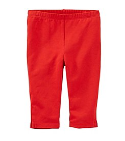 OshKosh B'Gosh® Girls' 4-6X Capri Leggings