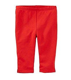 OshKosh B'Gosh® Girls' 4-6X Capri Leggings