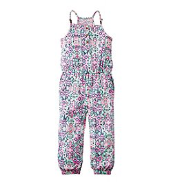 Carter's® Girls' 2T-6X Geo Printed Jumpsuit