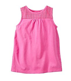Carter's® Girls' 2T-6X Crochet Tank