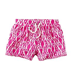 Carter's® Girls' 4-6X Geo Printed Drawstring Shorts