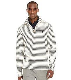 Polo Ralph Lauren® Men's Striped French-Rib Half-Zip Pullover