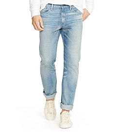 Polo Ralph Lauren® Men's Varick Slim-Straight Lightweight Sherman-Wash Jeans