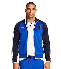 Polo Sport ®Men's Color-Blocked Fleece Track Jacket