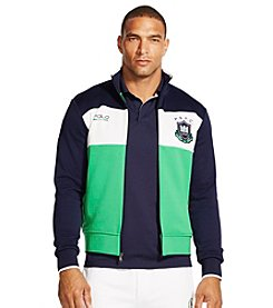 Polo Sport® Men's Color-Blocked Fleece Track Jacket