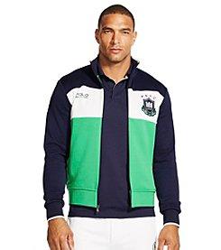 Polo Sport® Men's Color-Blocked Fleece Track Jacket