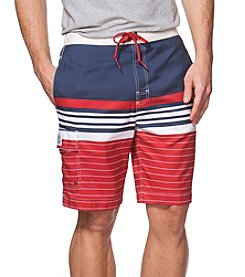 Chaps® Men's Colorblock Boardshorts