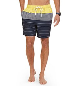 Nautica® Men's Engineered Swim Trunks