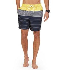 Nautica® Men's Engineered Swim Trunks