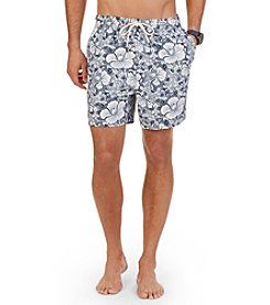 Nautica® Men's Tropical Floral Swim Trunks