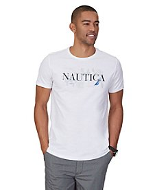 Nautica® Men's Short Sleeve Logo Graphic Tee