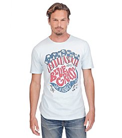 Lucky Brand® Men's Short Sleeve Front Screen Vintage Wash Bourbon Blue Grass Tee