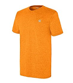Champion® Men's Short Sleeve Vapor Heathered Cotton Tee