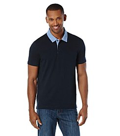 Perry Ellis® Men's Short Sleeve Pima Cotton Polo