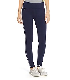 Lauren Active® Color-Blocked Jersey Leggings