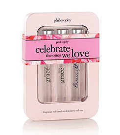 philosophy® Celebrate Love Rollerball Trio Gift Set (A $60 Value)