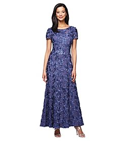 Alex Evenings® A-Line Rosette Dress