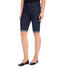 NYDJ® Petites' Briella Roll Cuff Bermuda Shorts