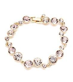Givenchy® Goldtone Vintage Rose Bracelet