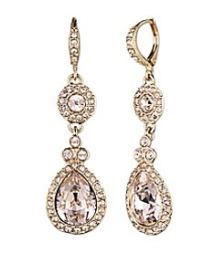 Givenchy® Goldtone Silk Drop Earrings