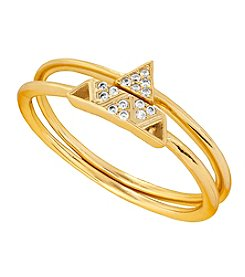 Lucky Brand® Goldtone Delicate Mixed Ring