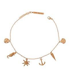 Lucky Brand® Goldtone Delicate Charm Bracelet