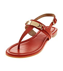 COACH Caterine Leather Sandals