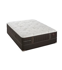 Stearns and Foster® Estate Oak Terrace Luxury Plush Mattress and Box Spring or Reflexion® 7 Adjustable Base