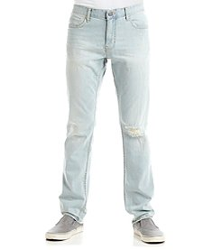 Calvin Klein Jeans Men's Slim Destructed Poolside Jeans