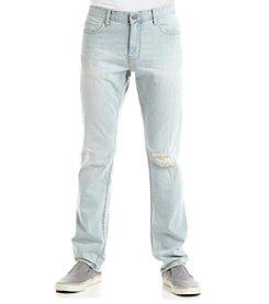 Calvin Klein Jeans Men's Slim Destructed Poolside Jeans