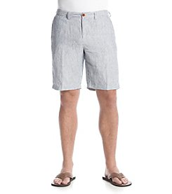 Tommy Bahama® Men's Provence Striped Linen 10-Inch Shorts