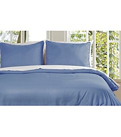 Lotus Home Microfiber Water and Stain-Resistant Duvet Cover Mini Set