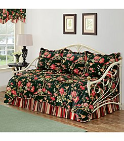 Waverly® Charleston Chirp Noir 5-pc. Reversible Daybed Set