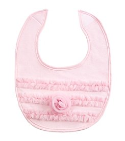 Cuddle Bear® Baby Girls' Rosette Bib