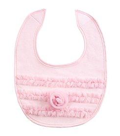 Cuddle Bear® Baby Girls' Rosette Bib