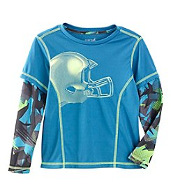 Exertek® Boys' 4-7 Long Sleeve Layered Helmet Graphic Tee