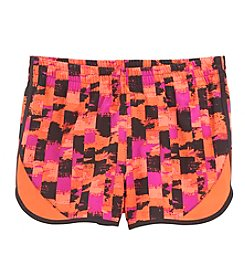 Mambo Girls' 7-16 Ribbon Blocked Running Shorts