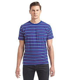 John Bartlett Consensus Men's Feeder Stripe Short Sleeve Tee