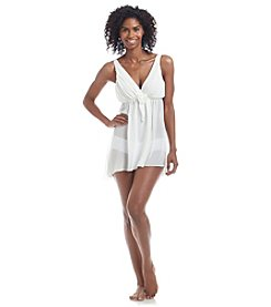 Flora Nikrooz Heather Chiffon High-Low Chemise