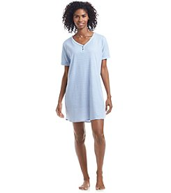 KN Karen Neuburger Short Sleeve Nightgown