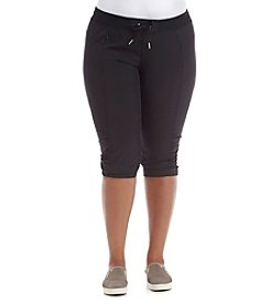 Calvin Klein Performance Plus Size Commuter Skimmer Capri Pants