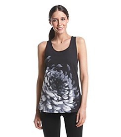 Calvin Klein Performance Wild Bloom Scoop Neck Tank