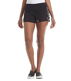 Calvin Klein Performance Slim Fit Cutoff Roll Shorts