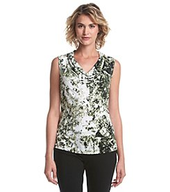 Marc New York Ditsy Floral Cowl Neck Cami