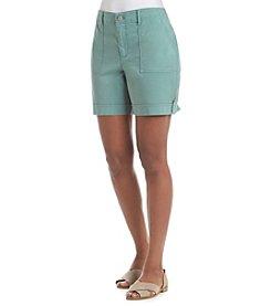 Gloria Vanderbilt® Frida Twill Cargo Shorts