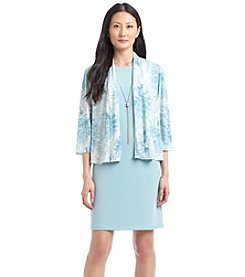 Jessica Howard® Petites' Floral Jacket Dress