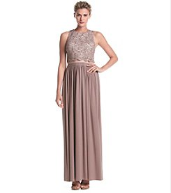 NW Collections Glitter Lavve Popover Dress