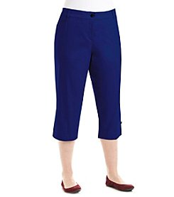 Studio Works® Plus Size Denim No Gap Twill Crop Pants