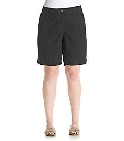 Studio Works® Plus Size Poplin Shorts